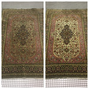 Middlewich Rug Cleaning Tabriz rug