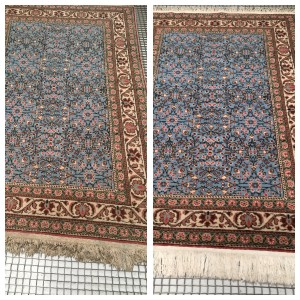 Cheshire Rug Cleaning Turkish before & after