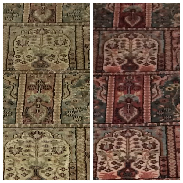 Rug Cleaning Cheshire Before & After Persain rug cleaning