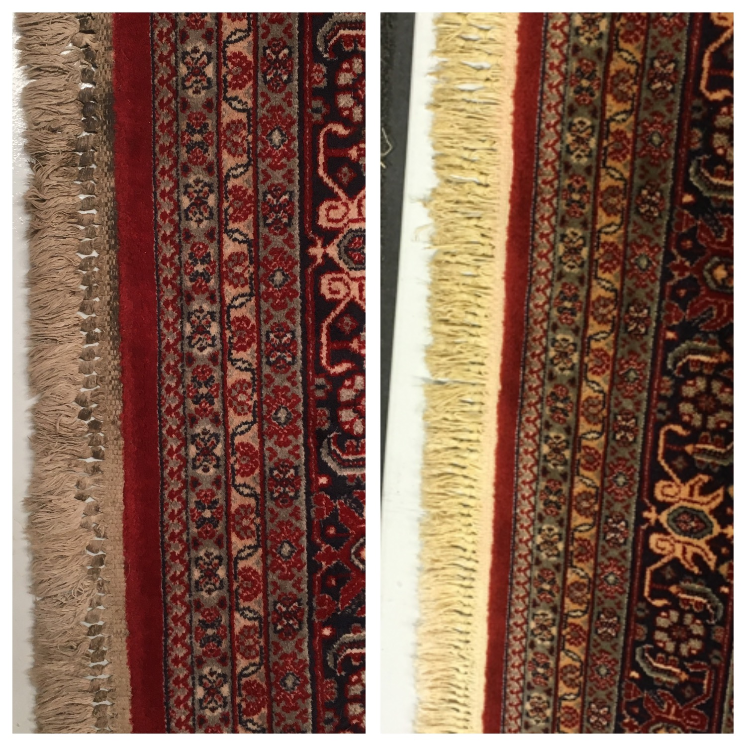 Rug Fringe cleaning Cheshire Rug Cleaning