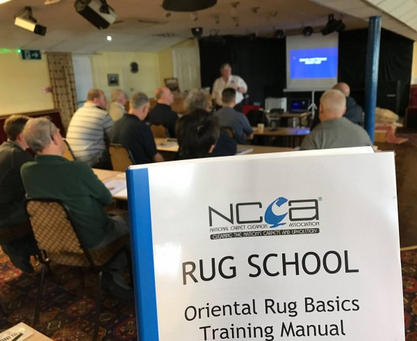 Cheshire Rug Cleaning NCCA course