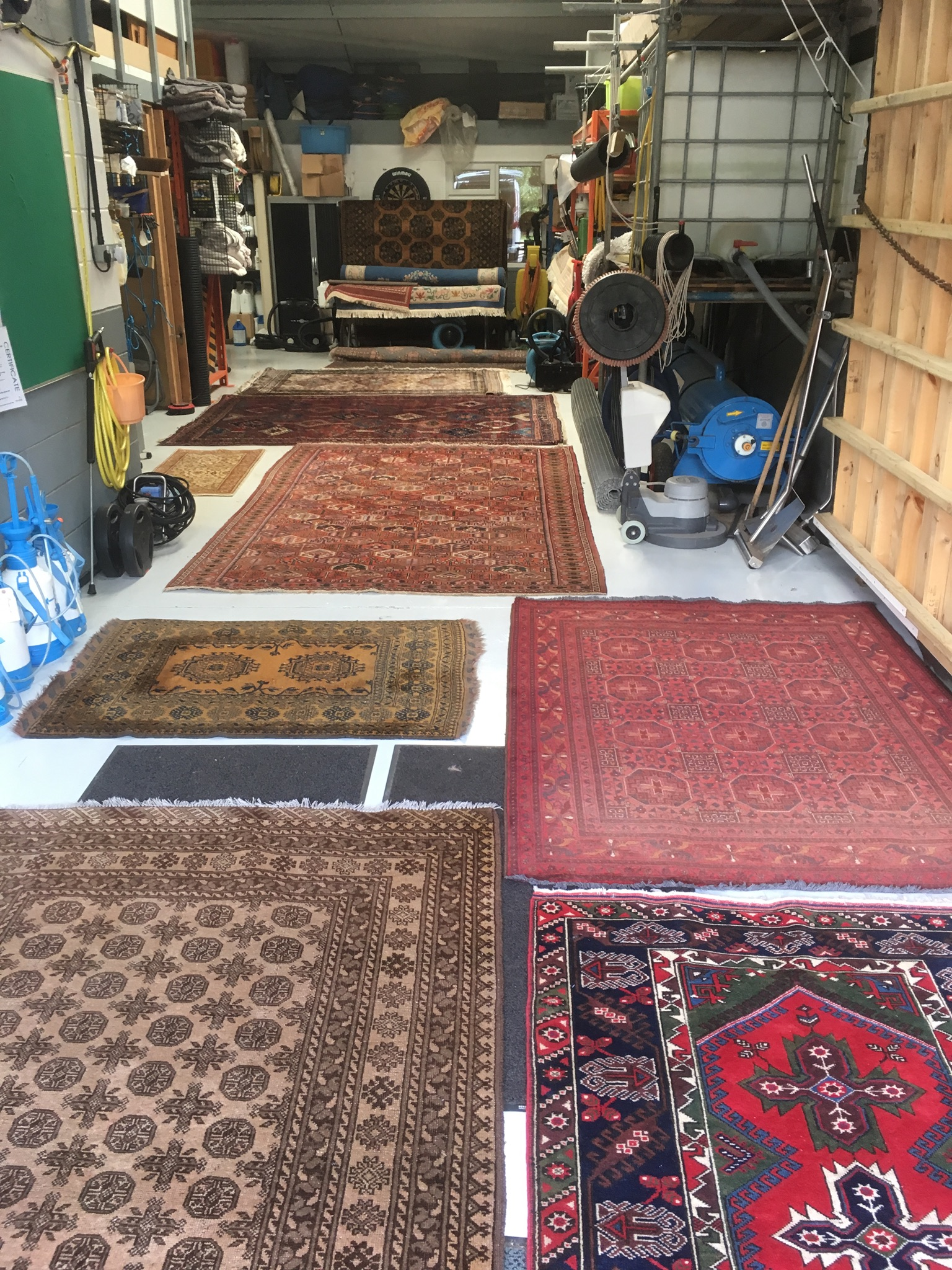 Rug cleaning Cheshire 2