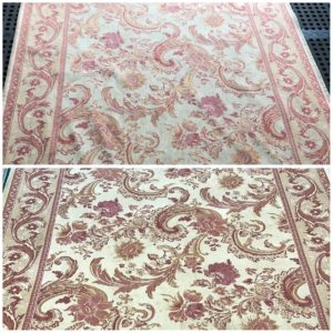 Rug Cleaning Northwich cream rug