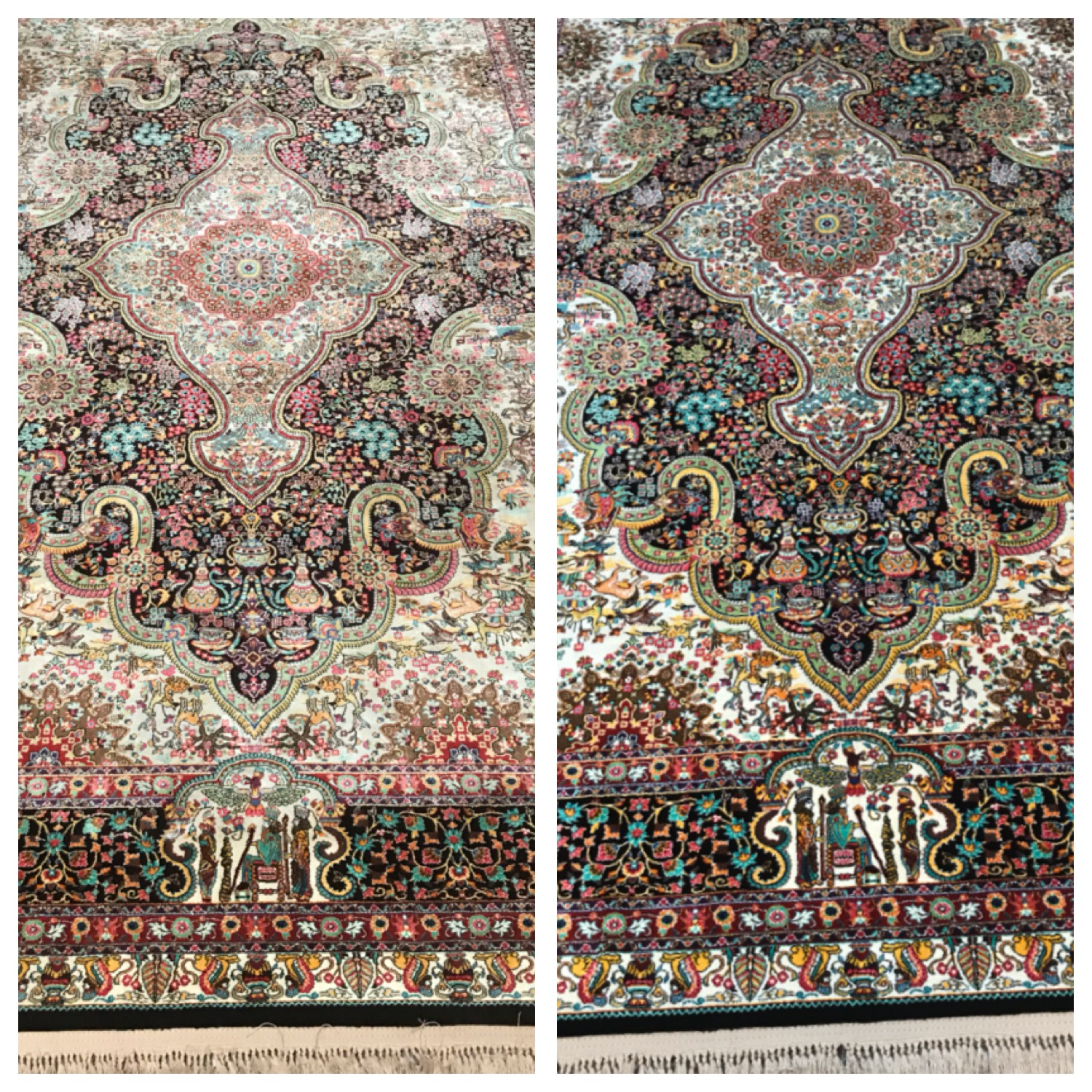 Rug cleaning Cheshire - Persian rug